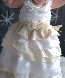 Tutorial: Ruffled baby dress lined in soft knit fabric | Sewing | CraftGossip.com