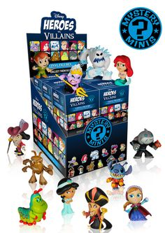 Disney Heroes vs Villains Mystery Minis Vinyl Figure Blind Boxes by Funko
