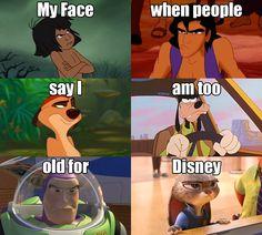 "oh my gosh, yes..so glad im not ""old"" yet Funny Disney Memes, Disney Jokes, Disney Facts, Disney Cartoons, Disney Mems, Disney Princess Memes, Disney Theory, Disney And Dreamworks, Disney Pixar"