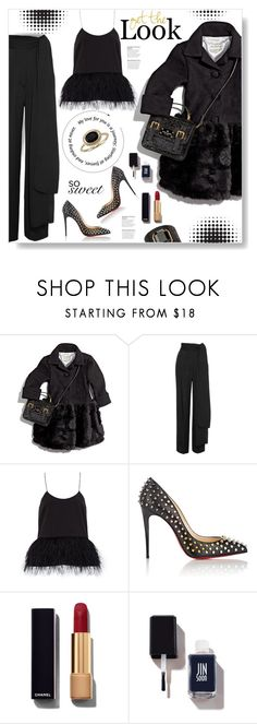 """""""Helena..."""" by desert-belle ❤ liked on Polyvore featuring Lanvin, TIBI, Christian Louboutin, Ivanka Trump, Chanel, JINsoon and Blue Nile"""