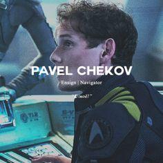 Pavel Chekov                                                       …