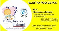UNIÃO ESPÍRITA ANDRÉ LUIZ - CAMPO GRANDE/MS: Obsessão na Infância