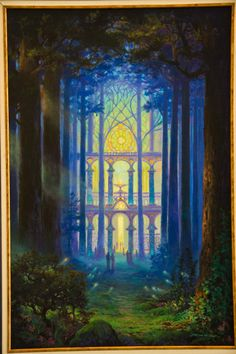 Forest Cathedral - Art of Jonathan Wiltshire / Oil / 2014