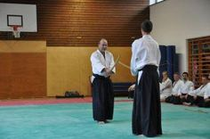 Chudan no Kamae. Gerwin Bumberger, Aikido Danprüfung zum 4. Dan, November 2011, Salzburg