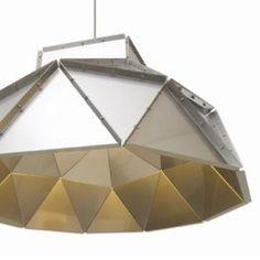 Collection Lighting Darc bij SixLight APOLLO DA740100010302 Aluminium Zwart.  Binnenverlichting Hanglamp 1x LED 50w max. Lamp inbegrepen.  Toestel op netspanning.  Niet richtbaar.  ø106x66 cm  2700K.