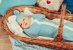 Конверты Кокоби для легкого пеленания и комфортного сна младенца