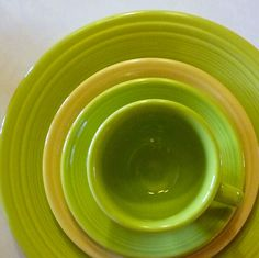 lemongrass--my new fave fiestaware color