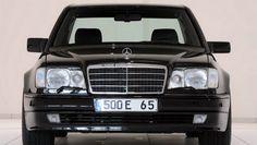 Mercedes Benz W124 front