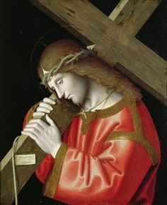 Bible In My Language / Christ Carrying His Cross, 1535 by  Marco Palmezzano