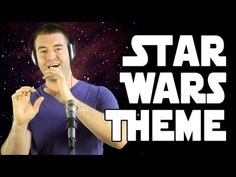 "Star Wars Main Title Theme (A Cappella Cover). Pretty cool, but not gonna lie, I spent most of my time watching him ""play"" the instruments to see if he was right...."