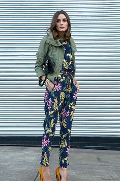 Add Color With Cargo Jackets - Easy Ways to Jazz Up Your Jumpsuits - Photos