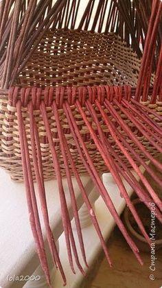 МК загибка. Поделка изделие Плетение мои новые работы Трубочки бумажные фото 8