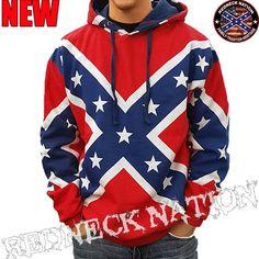 Redneck Nation© Confederate Hoodie