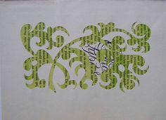 Boeksel oftewel altered text, book art, artwork on bookpages, altered books - door Loes Vork