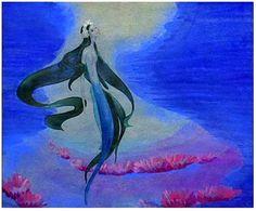 Kay Nielsen's concept art for Walt Disney's The Little Mermaid.