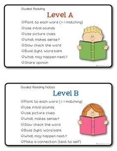 Guided-Reading-Note-Cards-for-Teachers-FREEBIE-1508357 Teaching Resources - TeachersPayTeachers.com