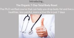 Doctor verified lose weight with the brandnew organic total body reboot be happy and get healthy