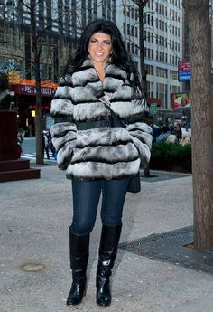 PETA sends imprisoned Teresa Giudice a letter asking her to donate her fur coats to help others.