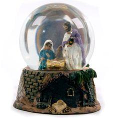 Nativity Snow Globes | Christmas Nativity Water Snow Globe Decoration 3 Design | eBay