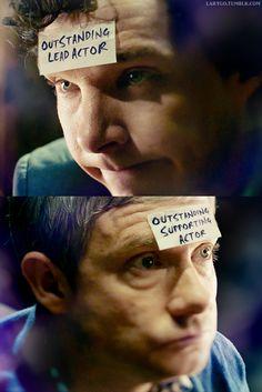 Simply perfect (rather like BBC Sherlock itself!)