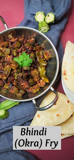 Recipe Videos, Food Videos, Bacon Recipes, Cooking Recipes, Easy Dinner Recipes, Easy Meals, Okra Fries, Easy Recipes For Beginners, Indian Food Recipes