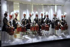 Christmas display windows | Christmas Retail Display Window Appreciation Moment to get you in ...