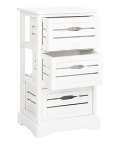 This Cream Adam Three-Drawer Cabinet by Safavieh is perfect! #zulilyfinds