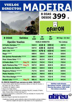 Madeira Vuelos DIRECTOS desde Barcelona últimas plazas salidas 16 Ago a 31 Oct 8 dias desde 399 € - http://zocotours.com/madeira-vuelos-directos-desde-barcelona-ultimas-plazas-salidas-16-ago-a-31-oct-8-dias-desde-399-e-2/