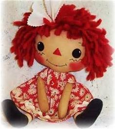 """... Cloth Soft Rag Doll Pattern by """"Oh Sew Dollin"""" - Sew, What's New"""