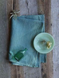 Dewy Grass Tea Towel| Inks+Thread