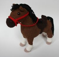 Bruno the Horse PDF crochet pattern Crochet Pony, Crochet Horse, Crochet Unicorn, Crochet Dolls, Crochet Crafts, Crochet Projects, Diy Stuffed Animals, Stuffed Horse, Horse Pattern