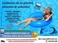 Cuidamos de tu piscina, tenemos la solución! accesorios de limpieza de piscinas y jacuzzis, químicos para su desinfección, eso y muchas...somos Krugar S.A.  Para pedidos, llámanos al 04 605 1480 ó escríbenos vía email a: krugarsa@hotmail.com  #piscinas #ecuador #gye #guayaquil #temporada2017 #playas #salinas #vialacosta #viasamborondon #playas #enviogratis #quimicos #bombasdeagua #filtros #jacuzzis