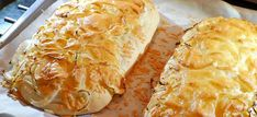 Kaas uienbrood recept, makkelijk en super lekker - Kookidee Dutch Recipes, Baking Recipes, Vegetarian Recepies, Low Carb Brasil, Pan Relleno, Buffet, Sandwiches, Good Food, Yummy Food