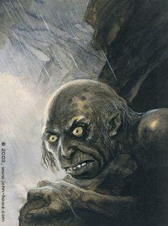 John Howe :: Illustrator Portfolio :: Home / From Hobbiton to Mordor / Gollum Gandalf, Legolas Y Gimli, Minas Tirith, Alan Lee, Narnia, Work For The Lord, John Howe, Fanart, Ancient Myths