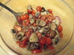 Greek Mushroom Salad Recipe