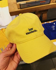 """8 Likes, 1 Comments - yellow (@yellow_exclusivity) on Instagram: """"I don't have low standards BUT this hat is cute"""""""
