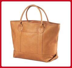 Clava Nantucket Tote (Vachetta Tan) - Top handle bags (*Amazon Partner-Link)