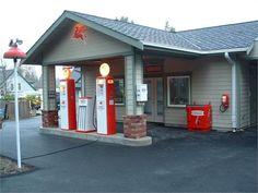 Vintage Gas Station Garage