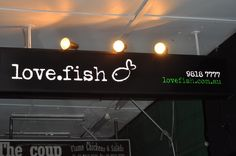 love.fish Rozelle Sustainable Seafood, Sydney Restaurants, Sustainability, Things I Want, To Go, Neon Signs, Fish, Dining, Food