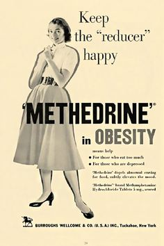 Methamphetamine history: Hilarious ads from when meth was an obesity drug