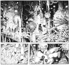 Hayao Miyazaki - Nausicaä of the Valley of the Wind. Probably the best comic book ever.