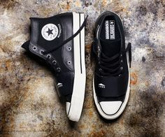 8736cd8656e8 Converse and Neighborhood give the Chuck Taylor a motorcycle-inspired  upgrade. New ConverseConverse Chuck Taylor All StarSneaker BootsShoes ...