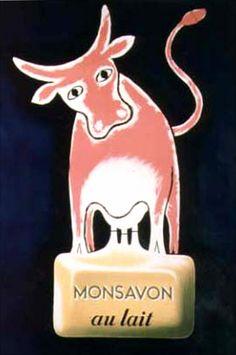 Raymond Savignac, Monsavon, 1949