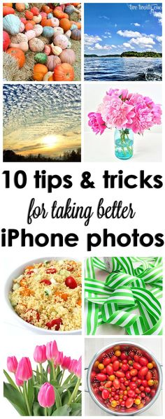 "Tips and tricks for taking better iPhone photos! Our favorite: Tip #5  ""This may sound silly, but make sure your smartphone camera lens is clean.  This seems to be a problem for people with children.  Of course your photos are going to come out blurry if you have a layer of graham cracker+drool film on the lens.  Just sayin'."""