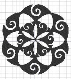 Sacred Geometry Mandala Machine Embroidery Design Patterns rockandroldesigns@gmail.com