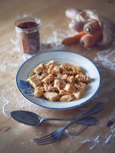 Gnocchis aux carottes (sans gluten)
