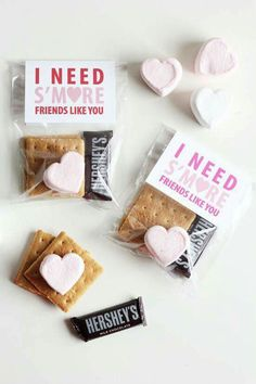 I need s'more friends like you! What a cute DIY Valentine idea!
