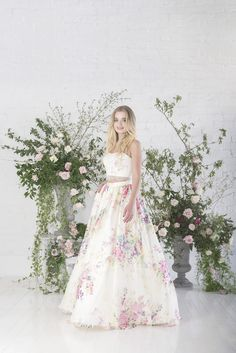 Untamed Love - Charlotte Baliber | Untamed Love Collection | Posey | Bridal Gowns | http://www.rockmywedding.co.uk/untamed-love-charlotte-balbier/
