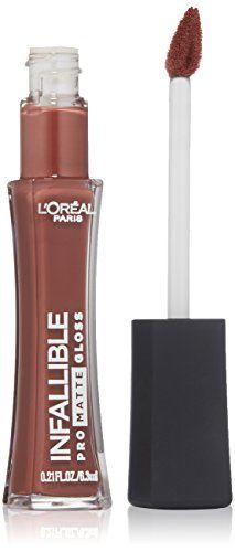 L'Oreal Paris Cosmetics Infallible Pro-Matte Gloss, Statement Nude, 0.21 Fluid Ounce *** Read more @ http://www.amazon.com/gp/product/B01643KONY/?tag=passion4fashion003e-20?pq=250716115656