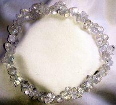 Bergkristall Heilstein Armband
